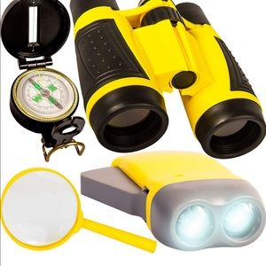 NIB Kid's Binocular Set, Yellow